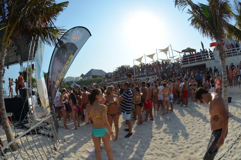 So eine Party am Strand auch in Europa bzw. Deutschland? Das soll gehen?