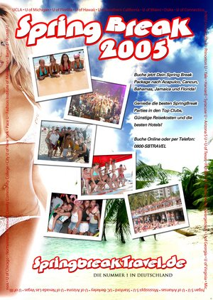 Unser Spring Break Flyer 2005