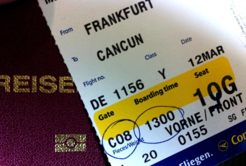 Flug nach Cancun / Mexiko